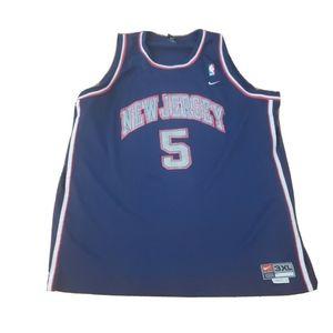 Jason Kidd New Jersey Nets Nba Men 3XL Nike Sewn #